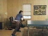 Pub  drole - Comment joué au pingpong avec son chien