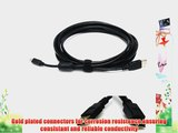 USB 2.0 Tether Cable 15ft 15' Tether Tethered Photography Tools Cable for Canon 5D Mark II