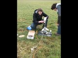 waterrocket 1.5Liter goes 349 Feet or 106 meter + Onboard camera Team.[D&P] Rockets*