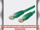 StarTech.com Green Molded RJ45 UTP Gigabit Cat6 Patch Cable - 100 Feet (C6PATCH100GN)