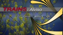 Trains, Trains, Trains,  Newark - Alviso Slough Drawbridge Route / Union Pacific Freight ((HD))