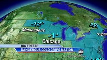Extreme Weather: Record Cold From Maine to Florida