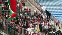 Ultras Report: 1.FC Magdeburg - Augsburg 1:0. DFB Pokal. 17.08.2014
