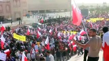 More than 600 Thousands protesters hit streets in Bahrain  - مسيرة الوفاء للشهداء