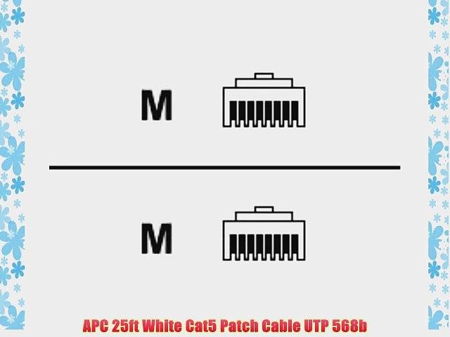 1aTTack CAT 5e Crossover UTP Netzwerk Patch-Kabel mit 2X RJ45 Stecker 0,5m