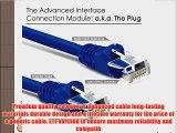GearIt (20 Pack) 6 Feet Cat5e Ethernet Patch Cable - Computer LAN Network Cord Blue - Lifetime