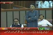 """Asad Umar to Khawaja Asif """"Kuch Sharam Hoti Hai, Kuch Haya Hoti Hai"""" in Parliament"""