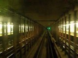 NYC Subway Fulton St. A Train Lafayette Ave to Nostrand Ave Eastbound