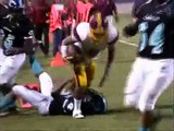 Roosevelt Rough Riders @ Contreras High Cobras Football 2009..Highlights