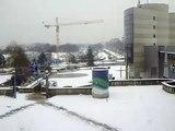 Noisy-Le-Grand (Seine-Saint-Denis) France/Paysage de neige