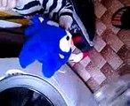 sonic & knuckles in the washing machine- sonic i knuckles