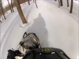 Ski Doo FreeRide And Ski Doo RS Deep Snow GoPro