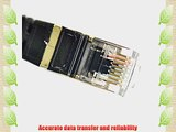 Vandesail? CAT7 High Speed Computer Router Gold Plated Plug STP Wires CAT7 RJ45 Ethernet LAN