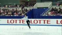 Yuzuru Hanyu 羽生結弦 FS - 2008 Japanese Nationals