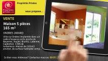 A vendre - maison - ONDRES (40440) - 5 pièces - 165m²