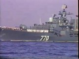 USSR Soviet Union Russian Naval Ships entering San Diego