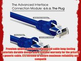 GearIt (50 Pack) 1.5 Feet Cat5e Ethernet Patch Cable - Computer LAN Network Cord Purple - Lifetime