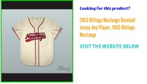 1963 Billings Mustangs Baseball Jersey Any Player