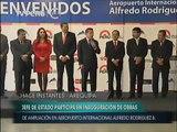 Pdte. Humala inauguró obras de ampliación y remodelación del Aeropuerto Internacional de Arequipa