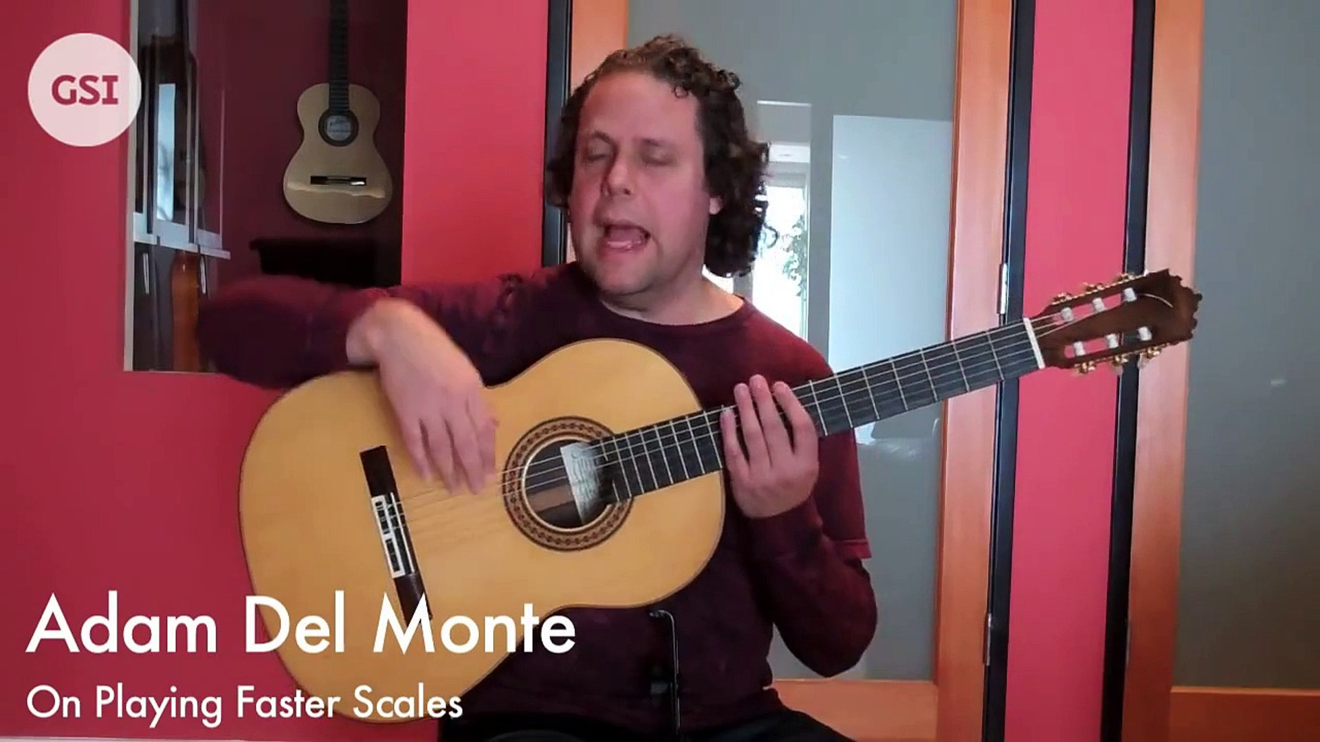 Adam Del Monte - How to Play Faster Scales: Flamenco Guitar at Guitar Salon International