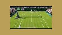 Maria Sharapova vs Larcher de Brito Screaming Tennis Match