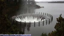 Massive Plughole Draining the Lake !