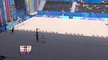 Le but incroyable de Madjer - beach soccer - aux Jeux Européens