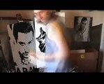 FINAL FANTASY VIII Rinoa  Speed Art Painting Stephen Quick