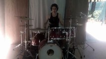 Dream Theater-The dance of instrument drum cover Daniele Flocco