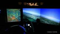 Simulateur Rafale au statique - Bourget 2015 - Dassault Aviation