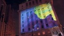 Laborg @ Virada Cultural 2009 - São Paulo City Hall facade projection