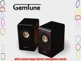 Aune X3 3-inch Hifi Passive Bookshelf Speakers Real Mini Desktop Hifi System.full Range Audiophile