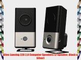 Altec Lansing 220 2.0 Computer Speakers (2-Speaker Black