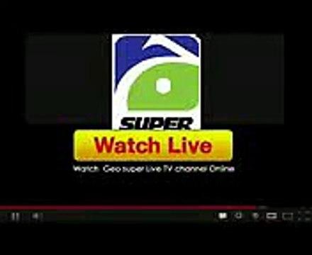 Geo Super Live Streaming free Online Cricket TV Channel