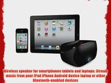 Logitech Mini Boombox for Smartphones Tablets and Laptops - Black