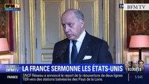 """TextO' : Laurent Fabius : """"J'ai convoqué l'ambassadrice pour lui dire que c'était inacceptable."""""""