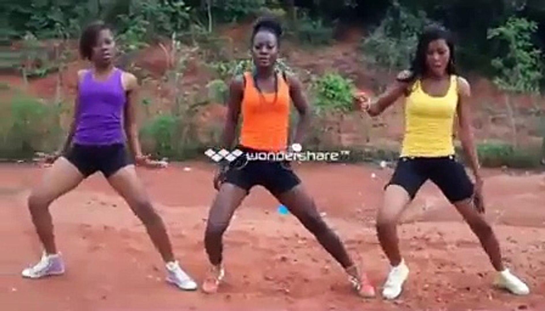 davido skelewu dance(toju nd friends)
