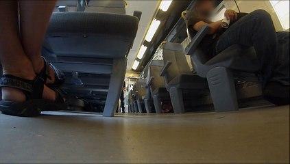 Contrôle au faciès dans le train Vintimille-Nice