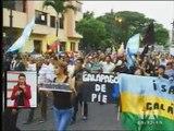 Informe revela hechos violentos en las marchas de oposición