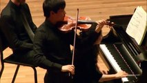 Zeyu Victor Li | Ravel | Tzigane | Yehudi Menuhin International Violin Competition | 2014