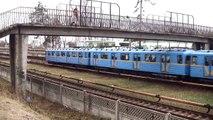 Киевское метро и трамваи / Kiev metro trains and trams