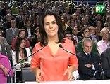 Plínio responde à Jornalista - Dilma comenta - Debate Rede Record 26-09-2010
