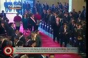 Ingreso del Presidente a la Catedral de Lima para Misa Solemne y Te Deum