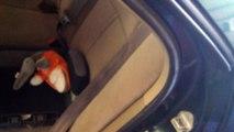 Repairing Seat Belt Mechanism on a 1996 Toyota Camry - video