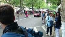 Ferrari 500 TR - Start up - Classic Days Berlin 2015