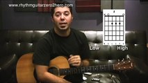 """""""Learn Guitar 3 Chords"""" Guitar Instructions - Learn To Play Acoustic Guitar"""