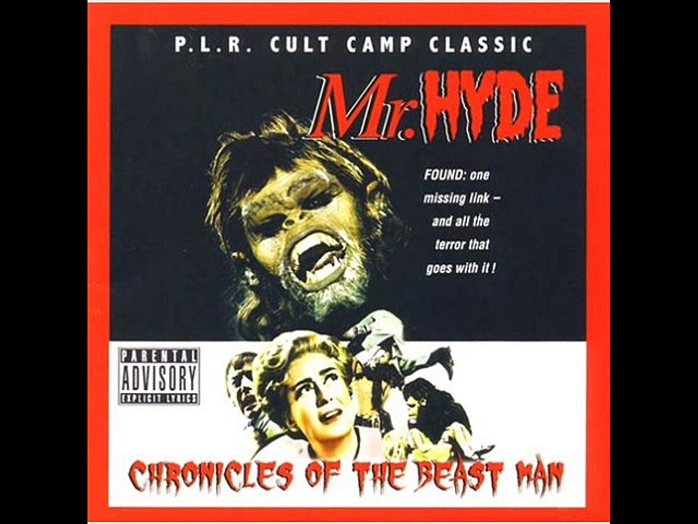 NECRO & MR. HYDE (GRUESOME TWOSOME) - BRAAAINS (off CHRONICLES OF THE BEAST MAN)