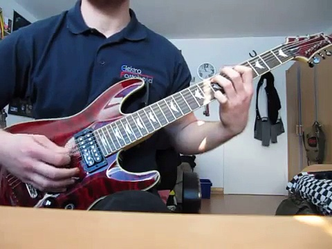 Just 4 Fun Enter Sandman Rhythm Guitar 7 Strings