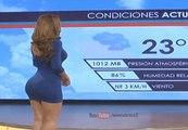 Yanet Garcia, la Miss Météo qui fait rêver le Mexique