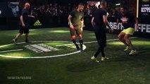 Zinédine & Enzo Zidane vs deux freestylers